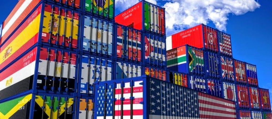 contenedores banderas